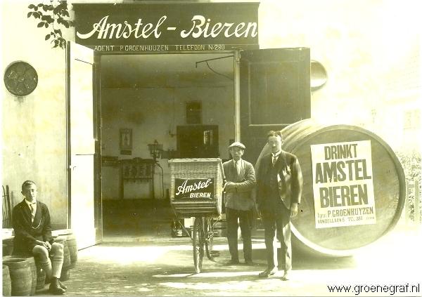 Wijn- en bierhandelaar Pieter Groenhuijzen
