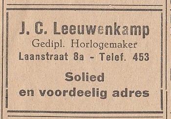 Johannes Carolus Leeuwenkamp