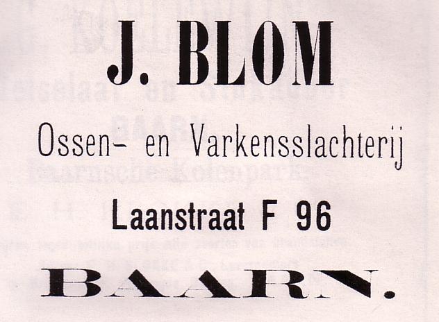 Ossen- en varkensslachterij Blom