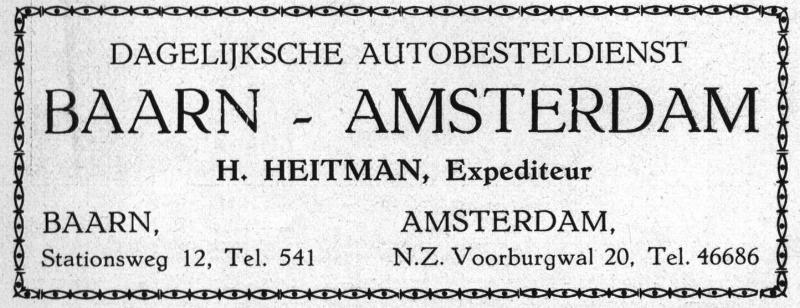 Expediteur H. Heitman