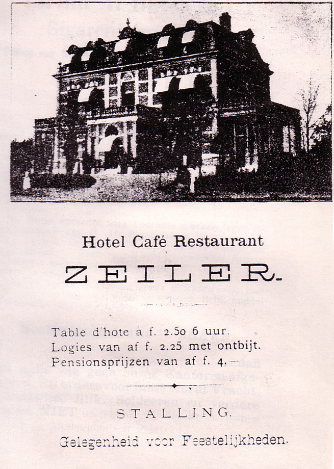 Hotel Café Restaurant Zeiler