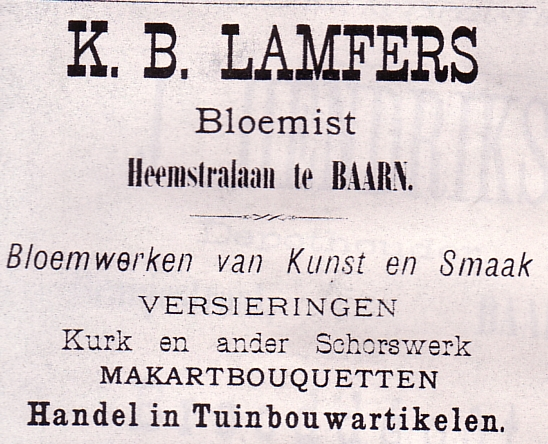 Bloemist Lamfers