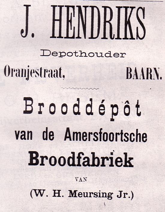 Brooddepot J. Hendriks