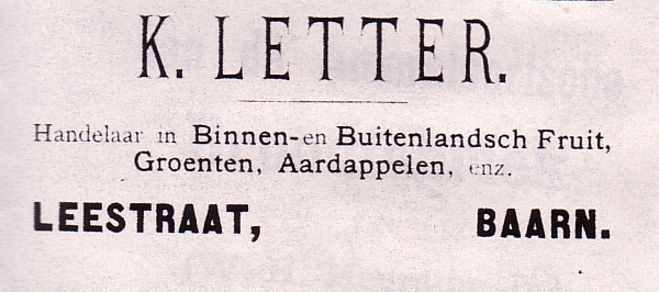 K. Letter