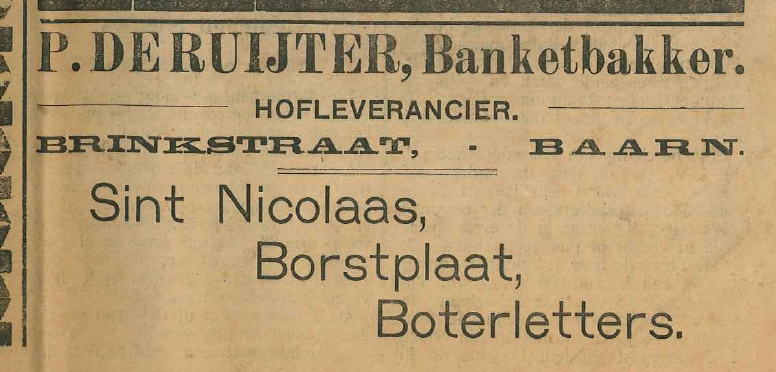 Petrus de Ruijter banketbakker