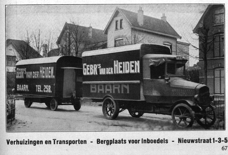 Verhuizingen en transporten Gebr. van der Heiden