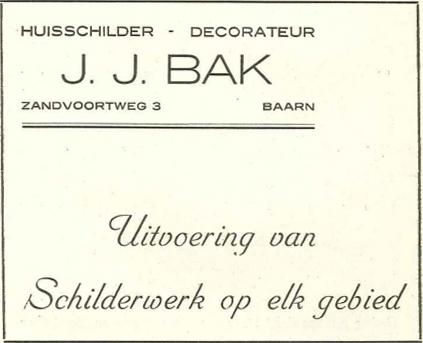 Huisschilder - Decorateut J.J. Bak