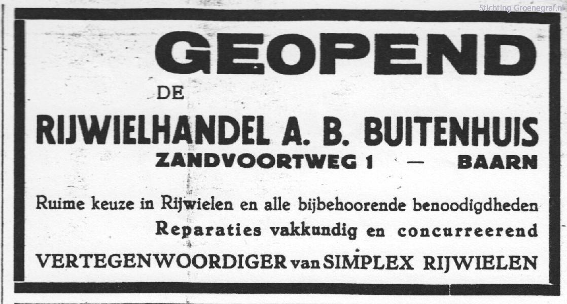 A.B. Buitenhuis rijwielen