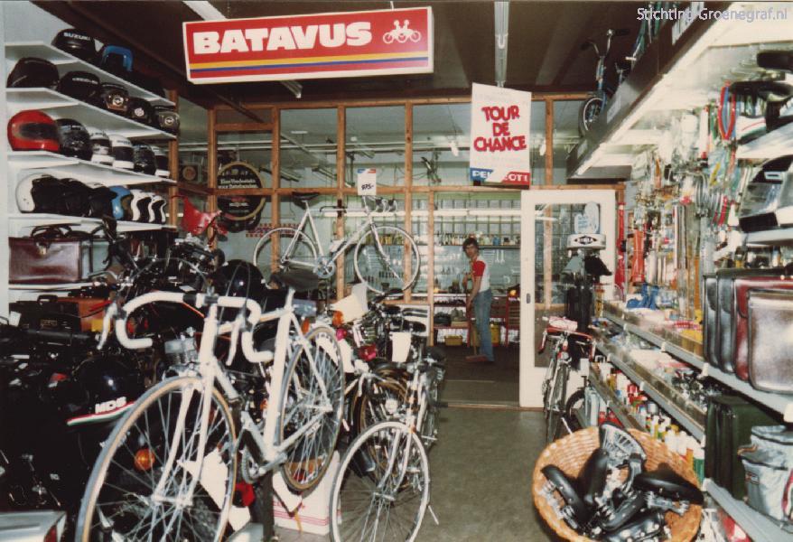Arnold van Eijden tweewielers showroom en werkplaats