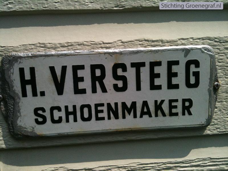 Schoenmaker Hendrikus Versteeg