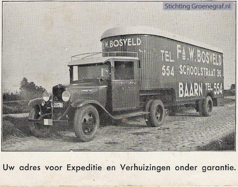 Expeditie- en verhuisbedrijf W. Bosveld