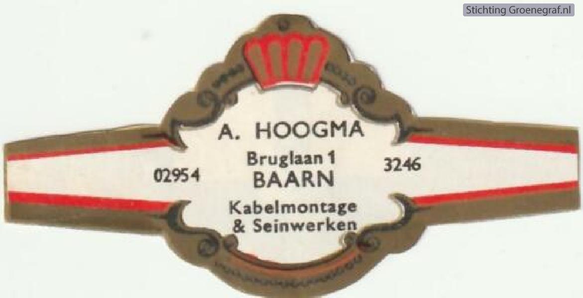 A. Hoogma Kabelmontage en Seinwerken