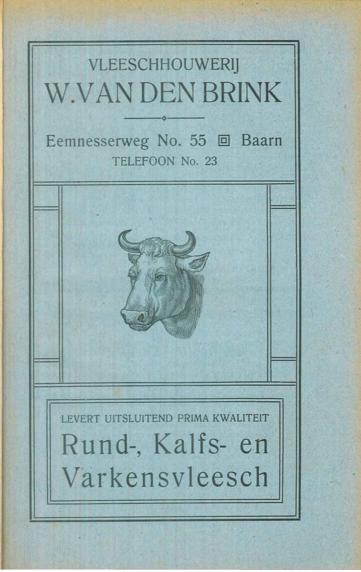 Vleeschhouwerij W. van den Brink