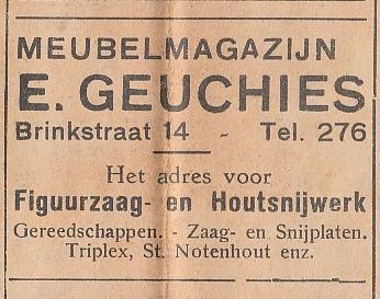 Meubelmagazijn E. Geuchies