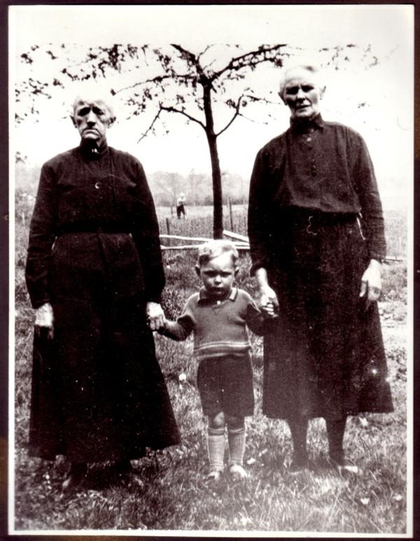 Mina van der Schagt, Albert Keus en Rijjkje van Ginkel