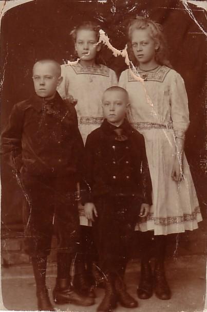 Silvester, Ann, Nicolaas Pieter en Marianna van Zijst