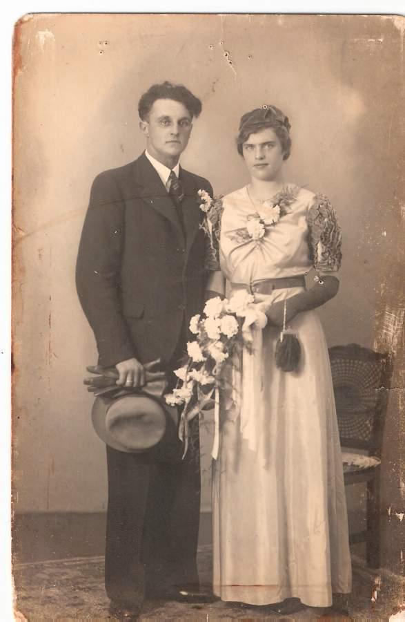 Wouterus Roos en Wilhelmina Hogenaar