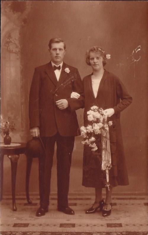 Fredrik Jan van Kesteren en Johanna Hendrieka Alberdina Beverdam