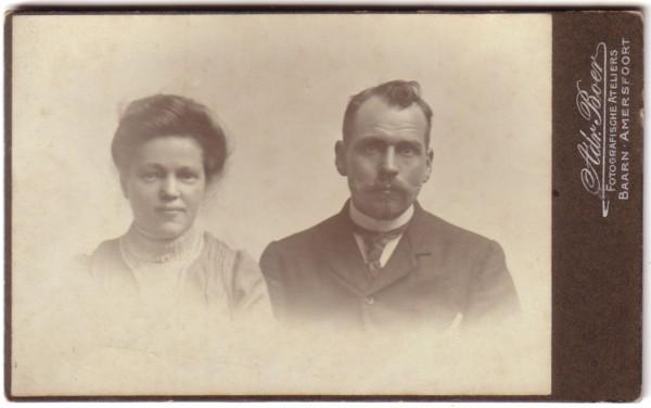 Maria Klaver en Gijsbertus van Kesteren