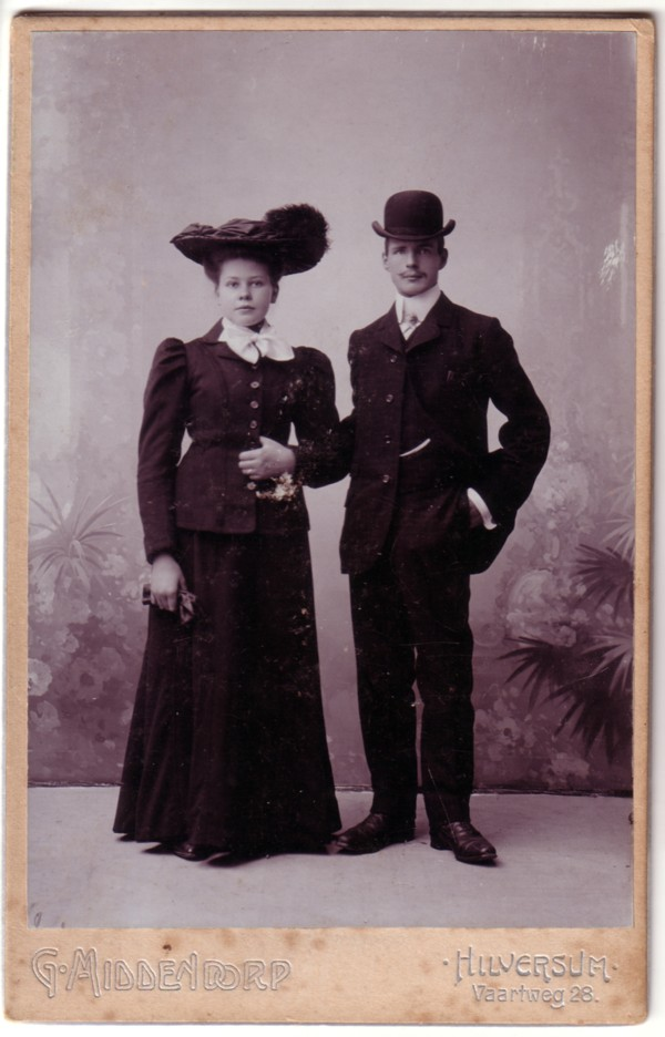 Annetha Maria van Leusden en Simon Herman Heinrich van Kesteren