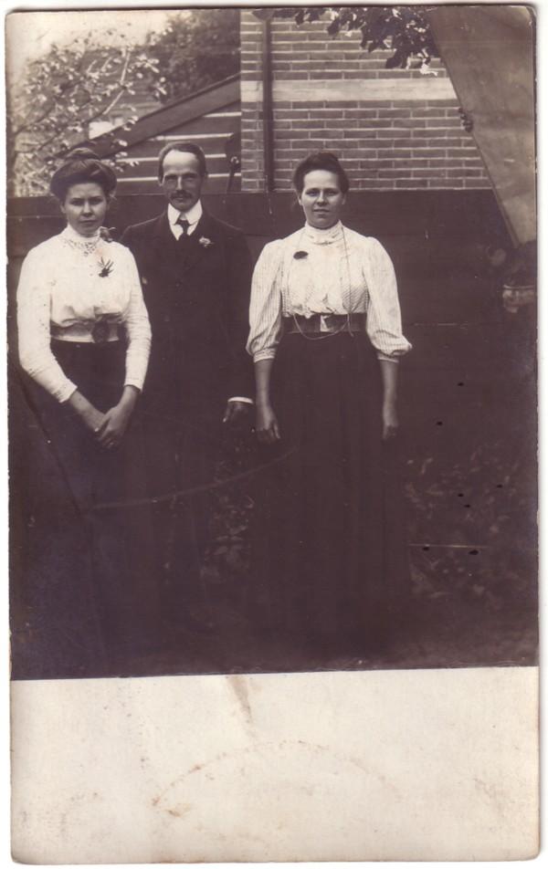 Annetha Maria van Leusden, Simon Herman Heinrich van Kesteren en Hermina Maria van Kesteren