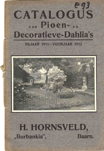 Catalogus Hendrik Hornsveld
