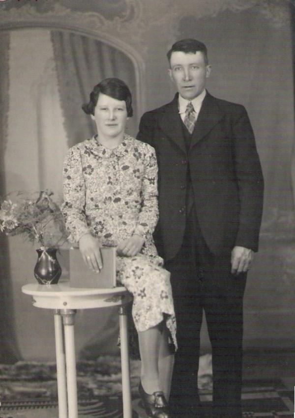Elisabeth van Beerschoten en vader Willem van Beerschoten