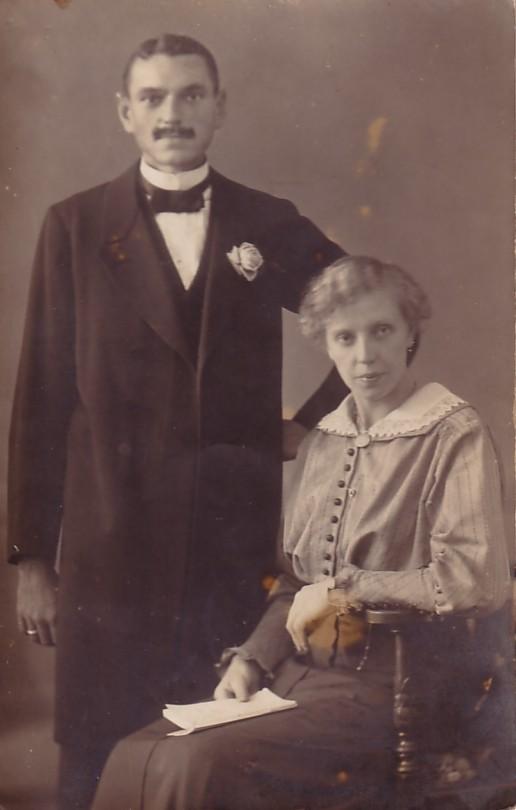 Foto  Walter Jäger en Johanna van Zijst
