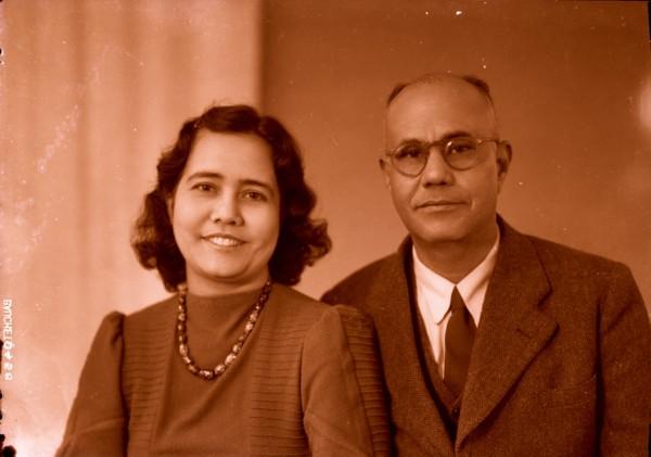 Johan Bender en echtgenote