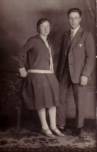 Hendrina Koops en Nicolaas Pieter van Zijst