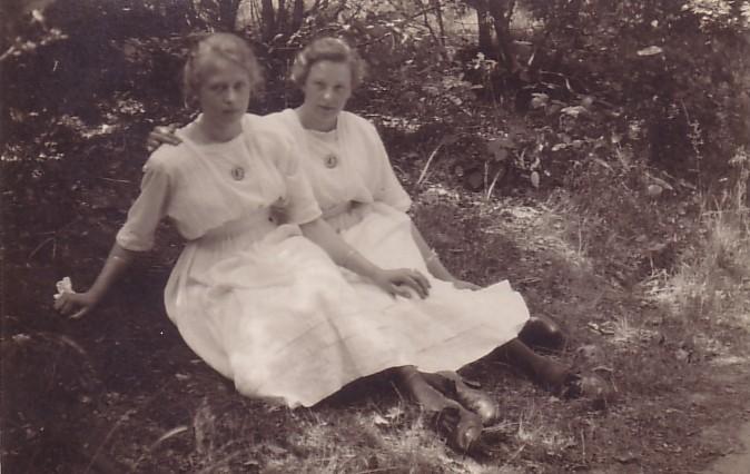 Marianna en Ann van Zijst