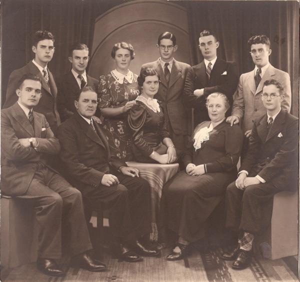 Gezin Pieter van Paridon en Maria Louisa Adriana van Dijk