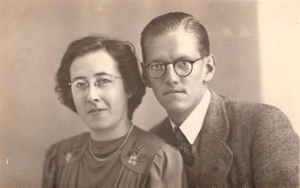 Jaantje Glasius en Abraham Nicolaas Sijtsma