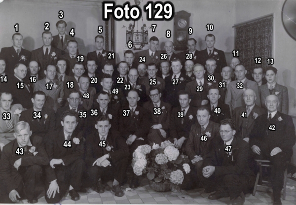 Postduivenvereniging De Pool in 1950