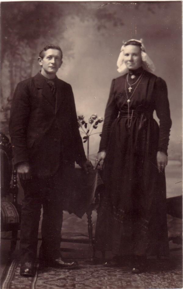 Gerbrand van den Hoven en Johanna Voskuilen