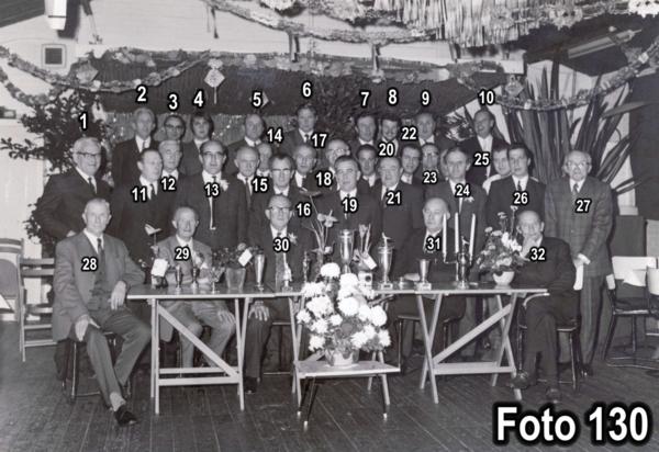 Postduivenvereniging De Pool in ca 1960