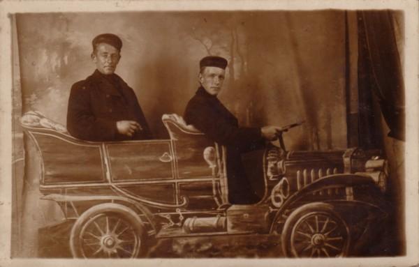 Foto  Arnoldus Hoogeboom en Cornelis Hoogeboom