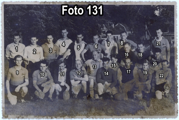 Voetbalclub ca 1950