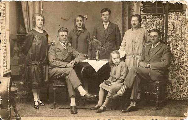 Kinderen van Aart Verhagen en Lena de Jong