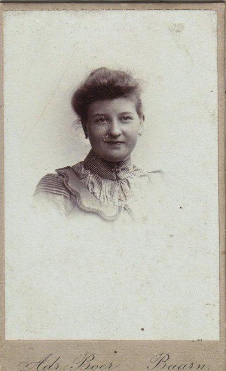 Foto  Geertruida Johanna de Weijer