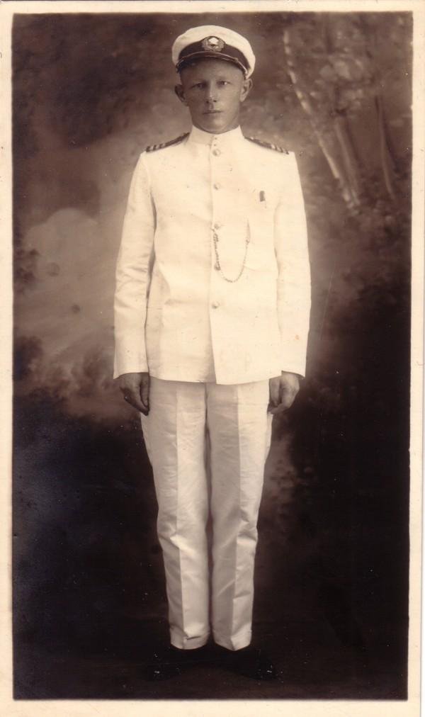 Foto  Joseph Petrus van Berkum, kapitein op de grote vaart
