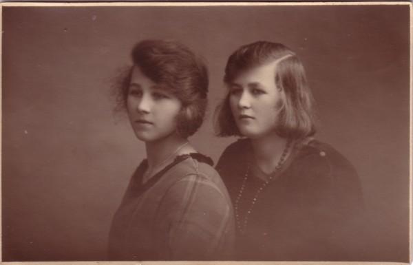 Jannetje Maria Schipper en zus Anna Catharina Maria Schipper