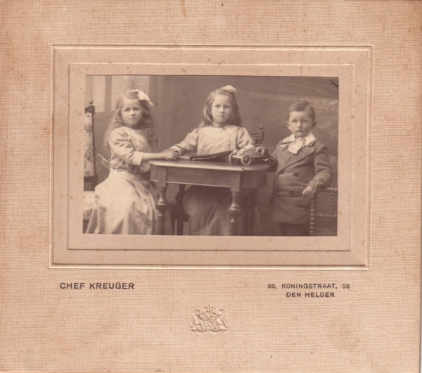 Ava Maria Anna, Jannetje Maria en Cornelis Johannes Schipper