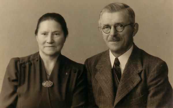 Geertje Cosijnse en Johannes Petrus Piek