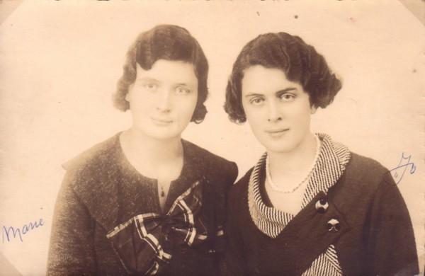 Maria Cornelia van Paridon en Johanna Anthonia van Paridon