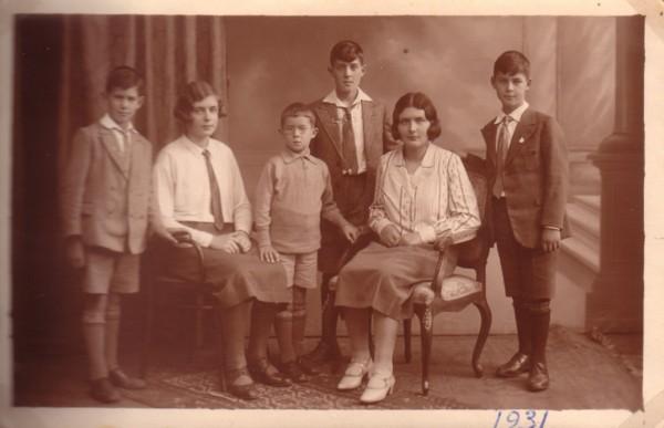 Kinderen van Pieter van Paridon en Maria Louisa Adriana van Dijk