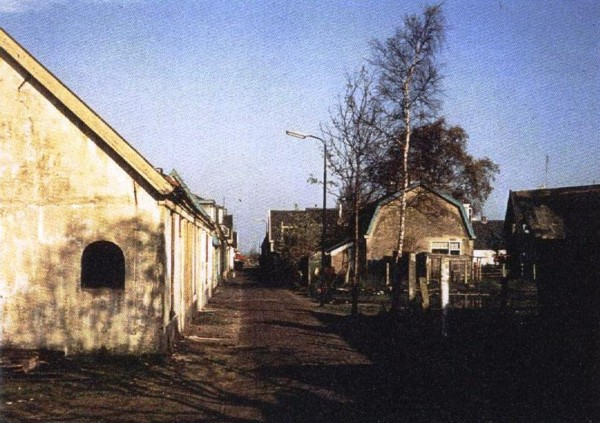 Foto  Elisabethstraat en Dijkweg in Baarn