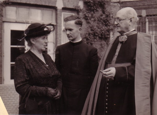 Foto  Maria Louisa Adriana van Dijk, Josephus van Paridon en Theodorus Huurdeman