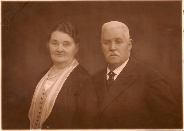 Anna Cornelia Tanis en Pieter Bakker