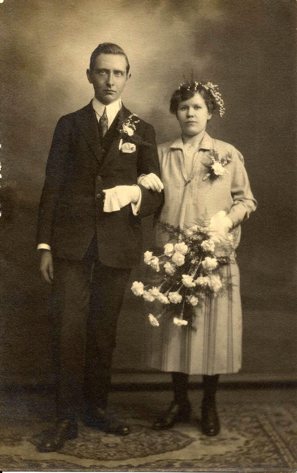Jacob Beerends Meester en Steijntje Gijsbertha Moen trouwfoto
